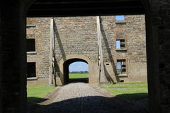 Charles fort ruins Kinsale Ireland Royalty Free Stock Images