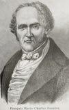 Charles Fourier Fotografia de Stock Royalty Free