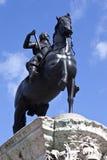 Charles I Statue in Trafalgar Square Royalty Free Stock Image