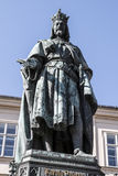 Charles IV άγαλμα Στοκ εικόνα με δικαίωμα ελεύθερης χρήσης