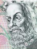 Charles IV, Holy Roman Emperor portrait Stock Photos