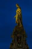 charles iv statua fotografia stock