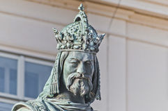 Charles IV Statue Royalty Free Stock Images