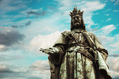 Charles IV statue Royalty Free Stock Photography