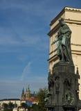 Charles IV statue, Prague,Czech Republic Stock Photo