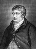 Charles James Fox. (1749-1806) on engraving from 1859. British Whig statesman. Engraved by unknown artist and published in Meyers Konversations-Lexikon, Germany stock photography