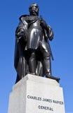 Charles James Napier Statue in Trafalgar Square Royalty Free Stock Image