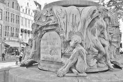 Charles Karel Buls Fountain Photo stock