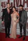 Charles Kelley,Dave Haywood,Hillary Scott,Lady Antebellum,CMA Award,Kelley Scott Royalty Free Stock Photos