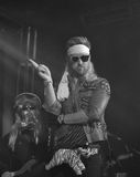 Charles Kelley from Lady Antebellum in costume Stock Photography