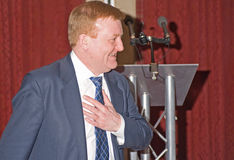Charles Kennedy; former Leader Liberal Democrats. Stock Photo