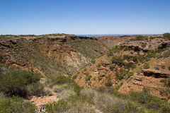 Charles Knife Canyon, Cape Range National Park Royalty Free Stock Photo