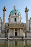 charles kościół Vienna obraz stock