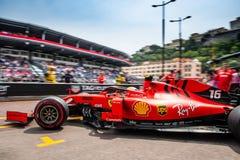 Charles Leclerc, Ferrari, Monaco 2019 stockfoto