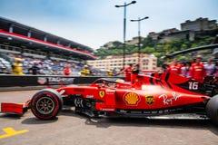 Charles Leclerc, Ferrari, Monaco 2019