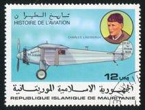 Charles Lindbergh royalty-vrije stock foto's