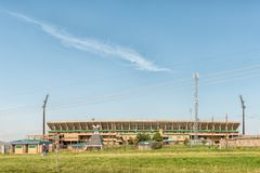 Charles Mopeli Stadium dans Phuthaditjhaba Image libre de droits