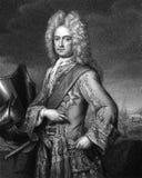 Charles Mordaunt, 3$ος κόμης Peterborough Στοκ Φωτογραφία