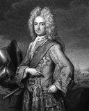 Charles Mordaunt, 3rd Earl of Peterborough Stock Photography