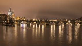 Charles most, Praga Zdjęcie Stock
