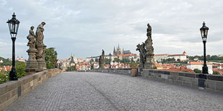 Charles most, Praga Zdjęcia Royalty Free