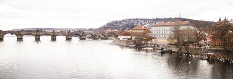 Charles most, republika czech, Praga Fotografia Royalty Free