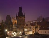 Charles most w Praga Zdjęcie Royalty Free