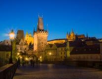 Charles most w Praga Zdjęcie Stock
