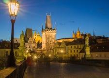 Charles most w Praga Fotografia Stock