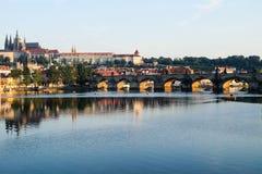 Charles most w Praga - republika czech Fotografia Stock