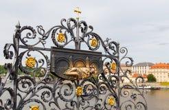 Charles mosta szczegół Obrazy Royalty Free