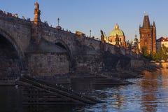 Charles mostu Obraz Royalty Free