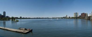 charles panoramaflod royaltyfri fotografi