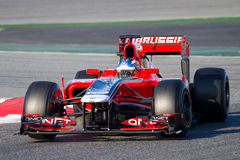 Charles Pic (Marussia) Stock Images