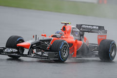 Charles pic, marussia F1 Royalty Free Stock Images