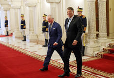 CHARLES, PRINCE OF WALES IN ROMANIA Stock Photo