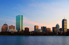 Charles River. And Boston Skyline - Massachusetts, USA stock photography