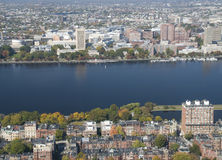 Charles River in Boston Royalty Free Stock Photo