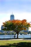 Charles River Boston Stock Foto's