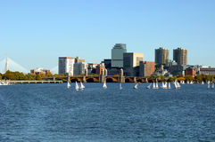 Charles River Boston Stock Afbeelding