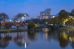 Charles river Boston on an Autumn Afternoon Royalty Free Stock Photos