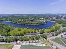 Charles River, Boston, Massachusetts, los E.E.U.U. imagen de archivo libre de regalías