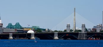 Charles River, Boston, miliampère fotografia de stock royalty free