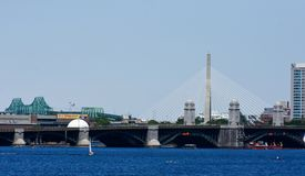 Charles River, Boston, miliampère imagens de stock