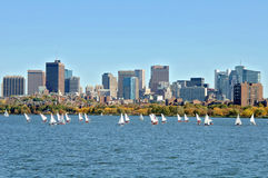 Charles River Boston Royalty Free Stock Images