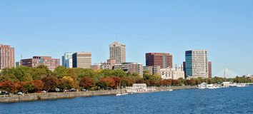 Charles River Cambridge Royalty Free Stock Photography