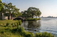 Charles River Esplanade fotos de archivo