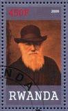 Charles Robert Darwin stock fotografie