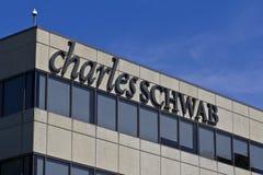 Charles Schwab Consumer Location I Royalty Free Stock Photo