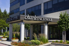 Charles Schwab Consumer Location III Stock Photography